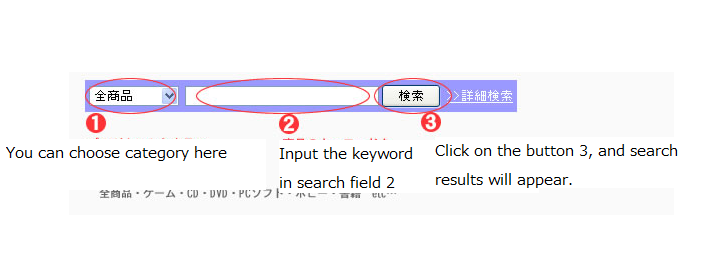 Buying from japan how to purchase items from surugaya for Input keyword disini perbaris ya