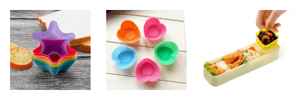 Shop Silicone Baking Cups and other Bento Box Goodies on ZenMarket!