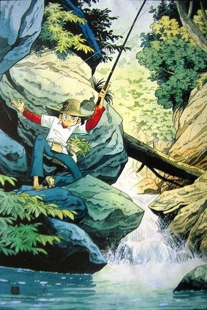Рибак Санпей (Fisherman Sanpei) - 10 БАГАТОСЕРІЙНИХ АНІМЕ, ЯКІ ВАРТУЮТЬ ВАШОГО ЧАСУ - рекомендації від ZenMarket