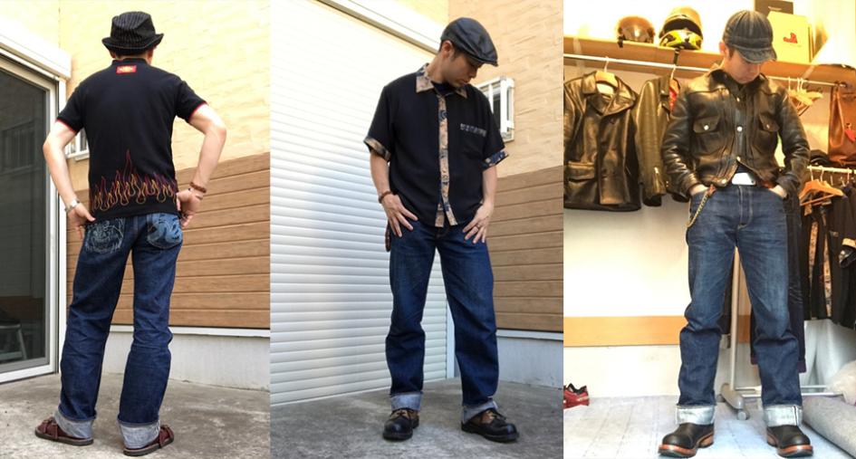 японські джинси  Studio D'artisan
