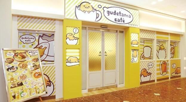 Gudetama Cafe Osaka