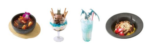 Final Fantasy Cafe Menu