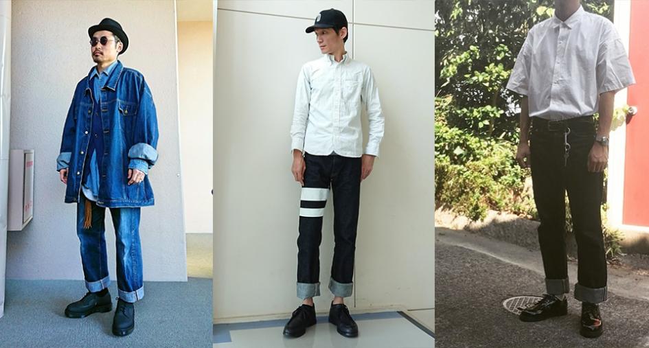 Momotoro jeans Japan