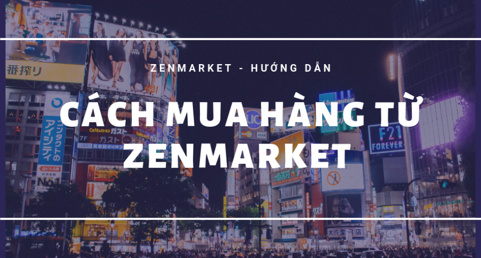 How to buy from Japan with ZenMarket