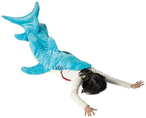 着る毛布サメ