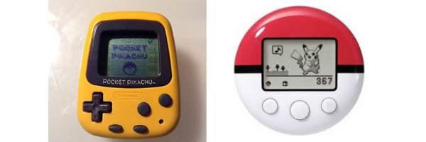 photos of Pocket Pikachu and Pokewalker
