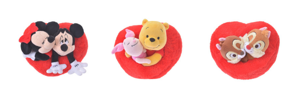 Disney Japan Valentine's Day Plushie