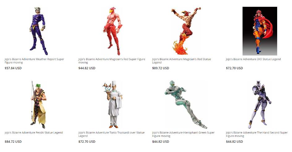 Figuras de Acción de JoJo en ZenPlus