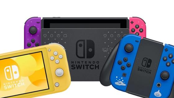 Nintendo Switch Japanese models