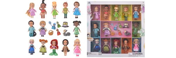The complete Disney Animators Set - Disney Store Japan