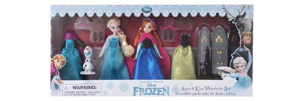 Anna & Elsa Wardrobe Set - Disney Store Japan