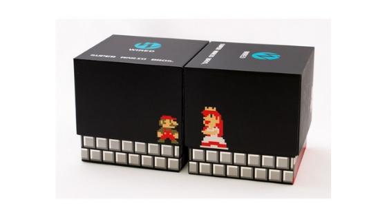 Super Mario Bros Wired Watch Box