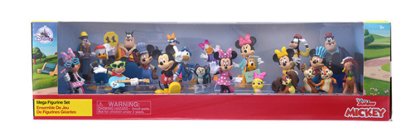 Disney Figure Set - Disney Store Japan