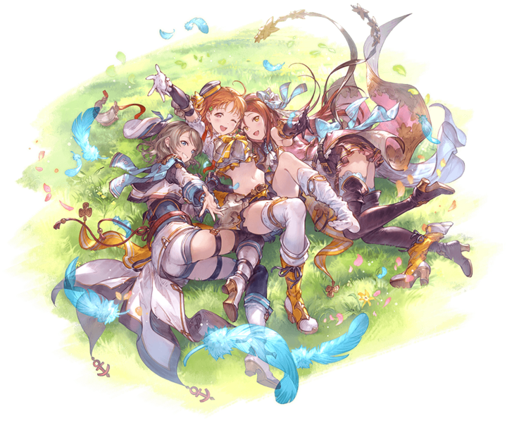 Love! Live characters in Granblue Fantasy