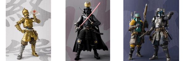 Shop Samurai Star Wars Figures on ZenMarket!