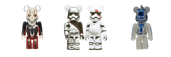Voir Star Wars BE@RBRICKS sur ZenMarket