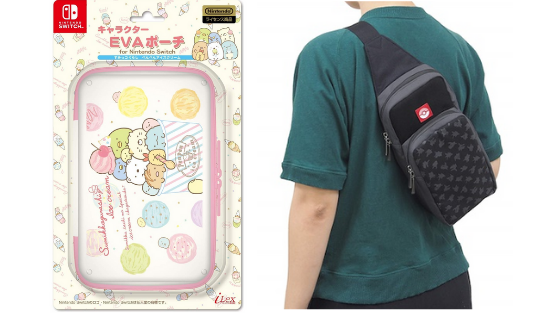 sumikko gurashi and pokemon nintendo switch cases