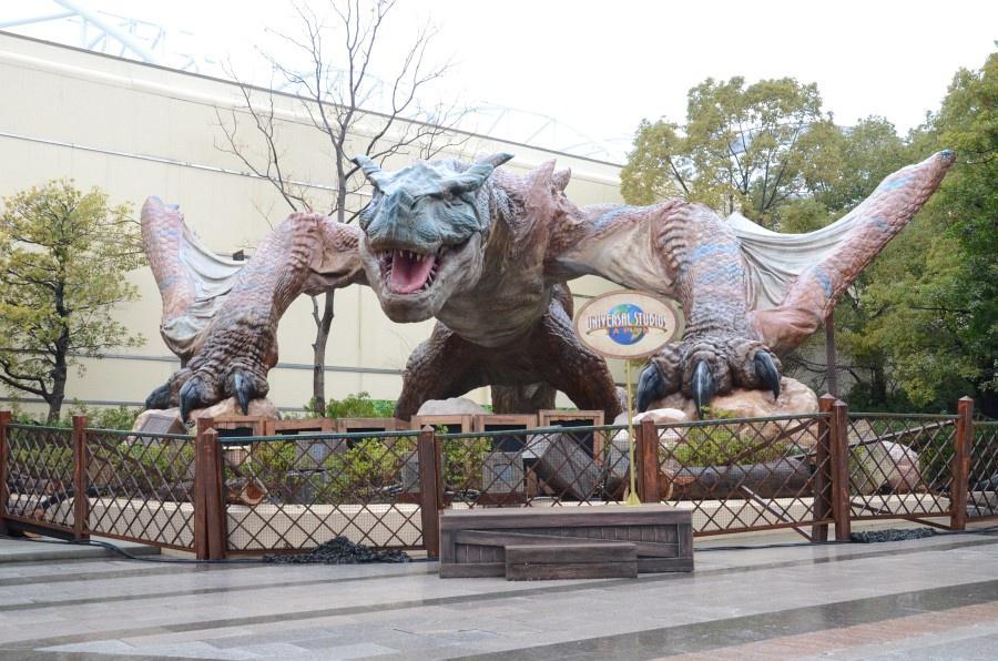 Monster Hunter 4D attraction at Universal Studios Japan
