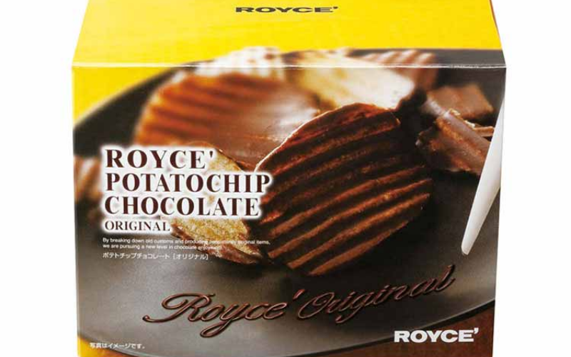 Royce Chocolate Covered Potato Chips