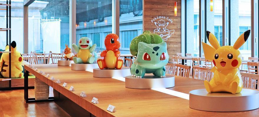Pokemon Кафе в Токио