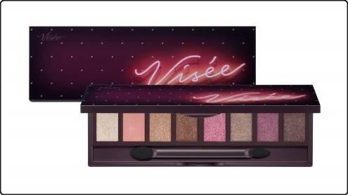 Visee limited edition Christmas 2018 eye-shadow palette