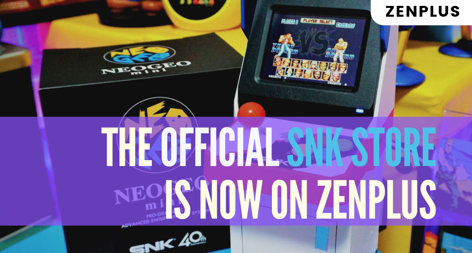 The Official SNK Store on ZenPlus - ZenMarket.jp - Japan Shopping & Proxy Service