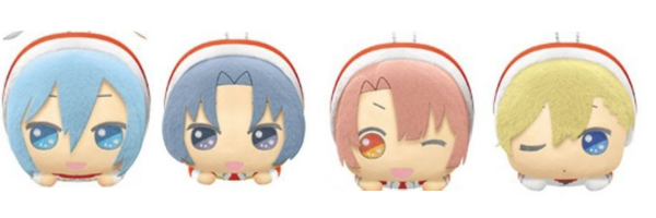 Idolish7 Christmas plushies 2018 bandai