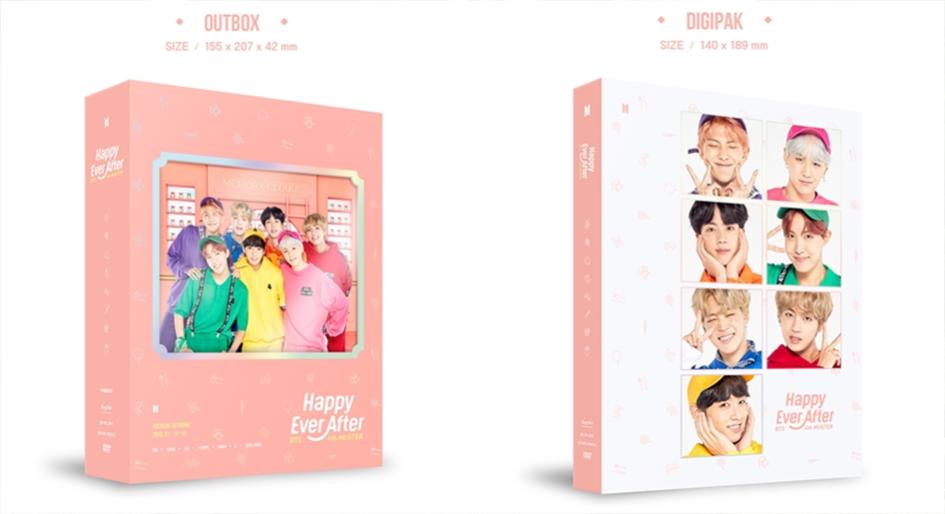 BTS 4th Muster Happy Ever After - ZenMarket jp - Japan