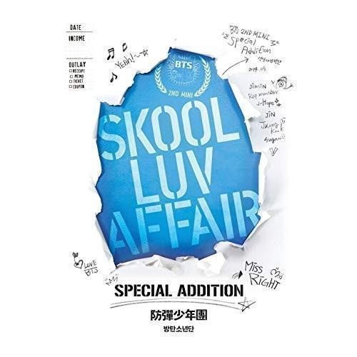 Portada del album Skook Luv Affair (Especial Addition) de BTS