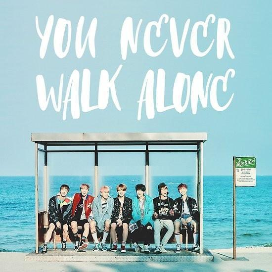 Album de BTS llamado You Never Walk Alone