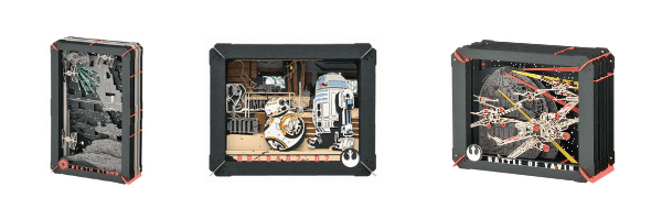 Shop Star Wars Paper Theater Kits on ZenMarket
