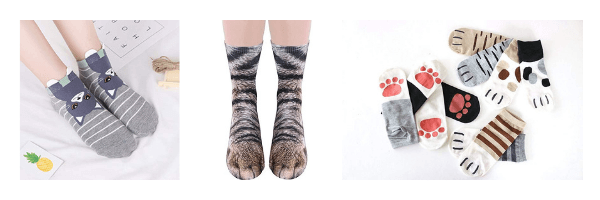 Shop Cat Socks on ZenMarket!
