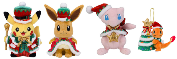 Pokemon Center Japan Official 2018 Christmas Merch