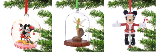 Christmas Disney Tree Ornaments - Disney Store Japan