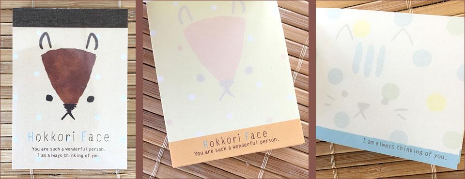 Hokkori Face Japanese Stationery ZenPop