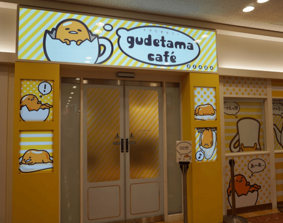 Gudetama Cafe, Osaka