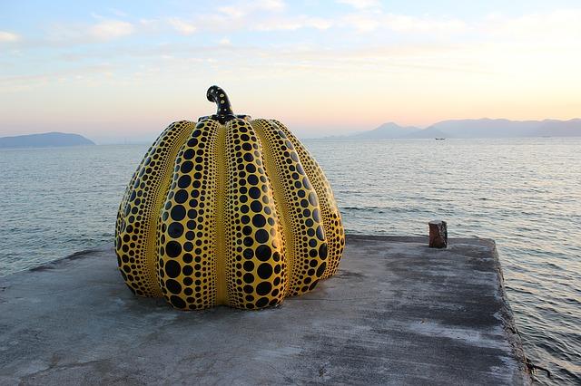 Yayoi's iconic pumpkin