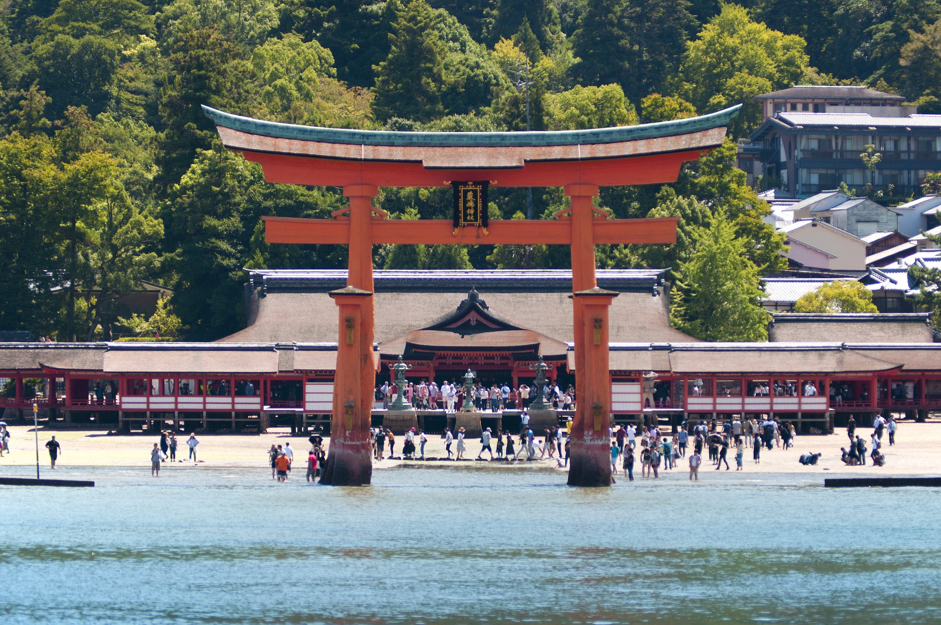 The great torii gate