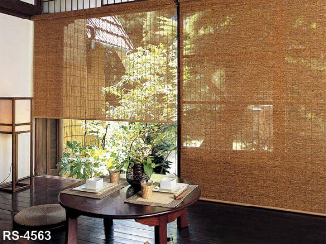Sudare (screens) are perfect for cooling a room in summer