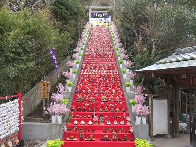 Katsuura Big Hina Matsuri in Chiba