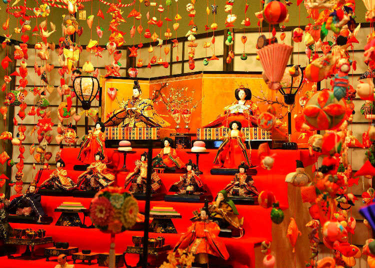 Hinamatsuri Day in Japan