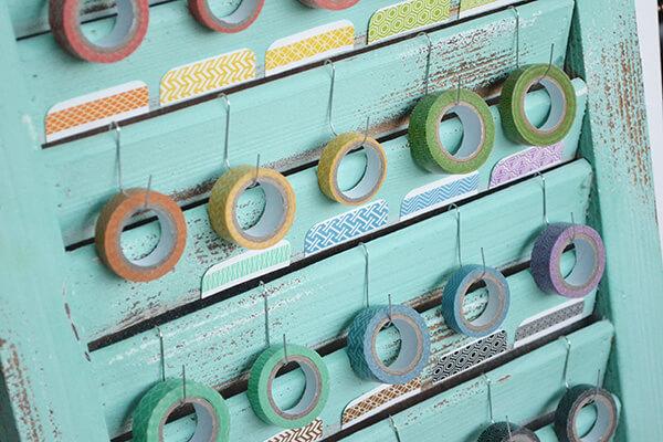DIY Washi Tape Holder