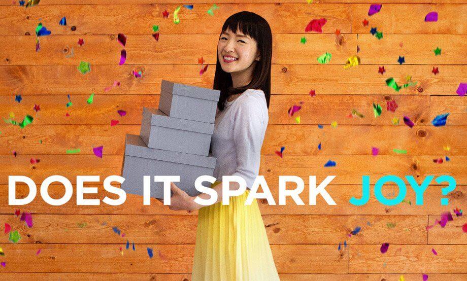 Marie Kondo: Does it spark joy?