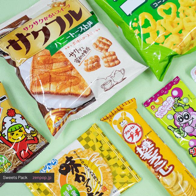 ZenPop's May Fresh & Fruit Sweets Pack