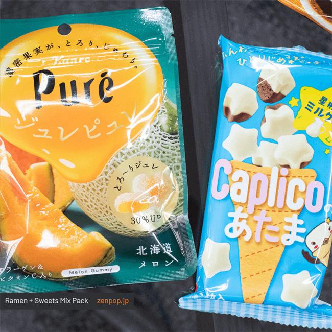 ZenPop's May Brunch Ramen + Sweets Mix Pack