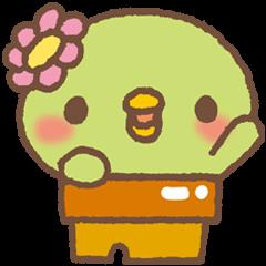 San-X's Sabokappa character