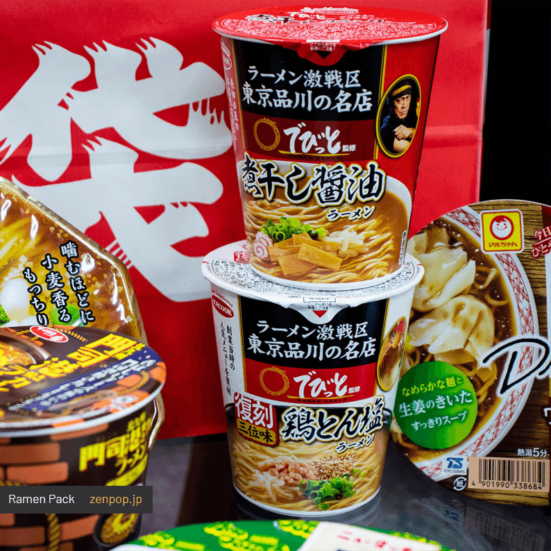 ZenPop's June Ramen Pack 1
