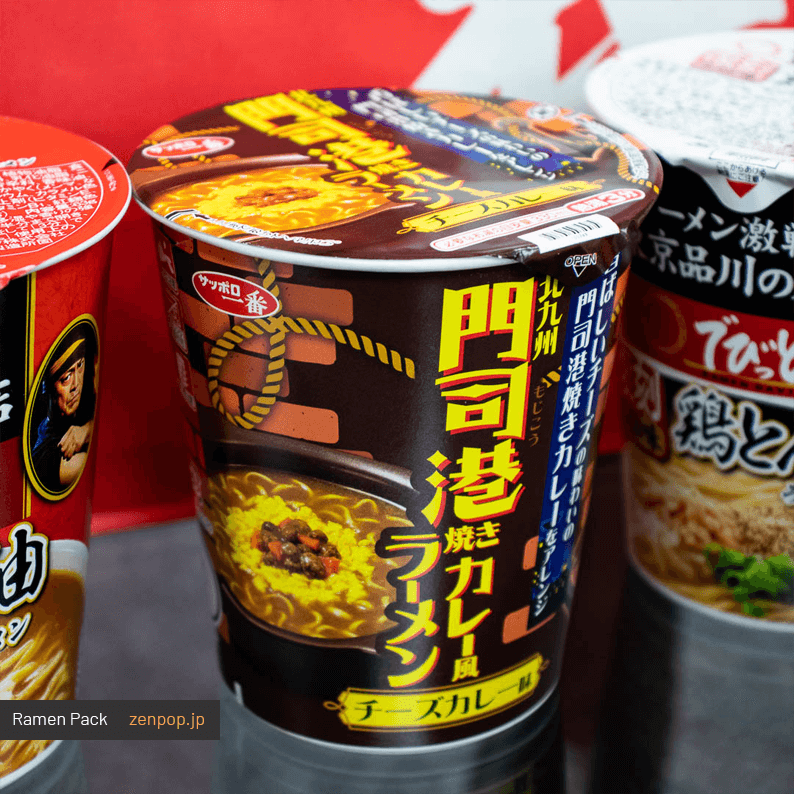 ZenPop's June Ramen Pack 3