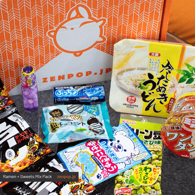 ZenPop's June Ramen + Sweets Mix Pack 1