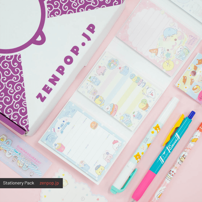 ZenPop's June Stationery Pack 1
